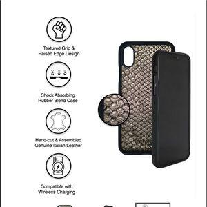 Michael Louis Gold Snakeskin iPhone X/XS Case